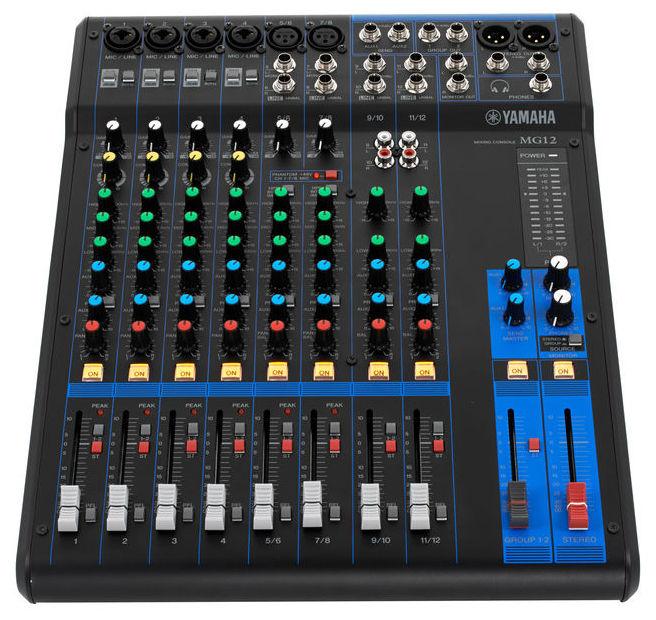 Yamaha mg 12 mixer soundcreation for Yamaha mg12 case