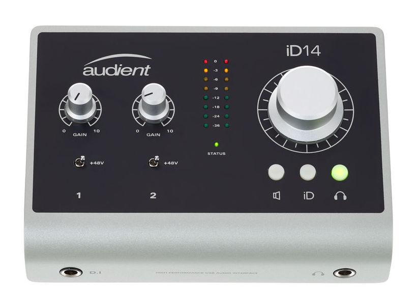audient id14 interfa audio usb soundcreation. Black Bedroom Furniture Sets. Home Design Ideas