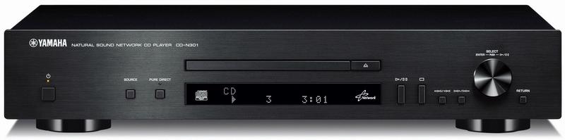 yamaha cd n301 black cd player cu de re ea soundcreation. Black Bedroom Furniture Sets. Home Design Ideas