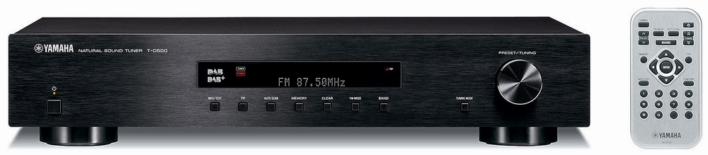 yamaha t d500 black tuner hi fi digital soundcreation. Black Bedroom Furniture Sets. Home Design Ideas