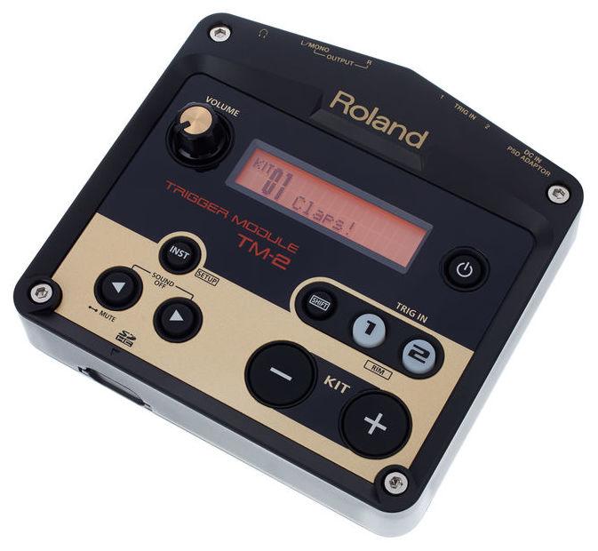 roland tm 2 trigger module modul triggere de tobe soundcreation. Black Bedroom Furniture Sets. Home Design Ideas