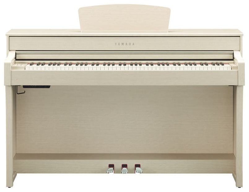 Yamaha clavinova clp 635 wha pian digital alb cenusiu for Yamaha clp 635 review