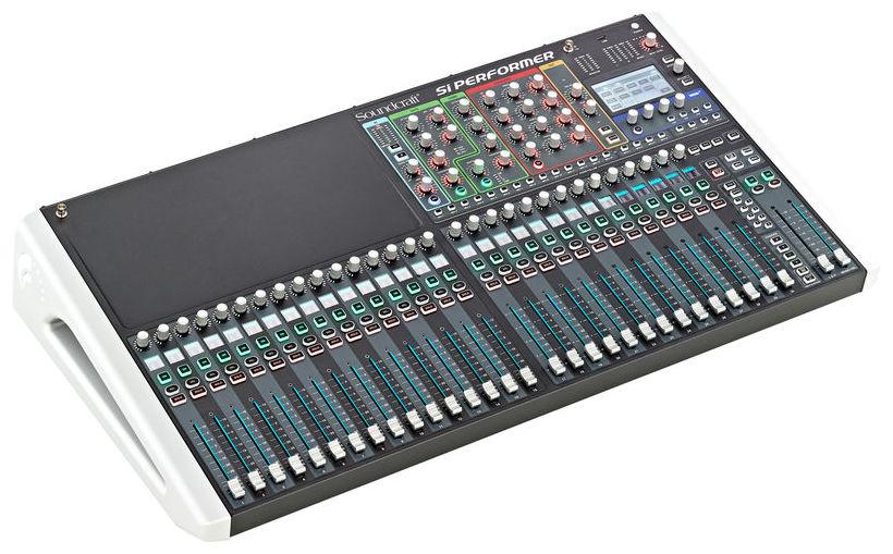 soundcraft si performer 3 mixer digital cu dmx 512 soundcreation. Black Bedroom Furniture Sets. Home Design Ideas