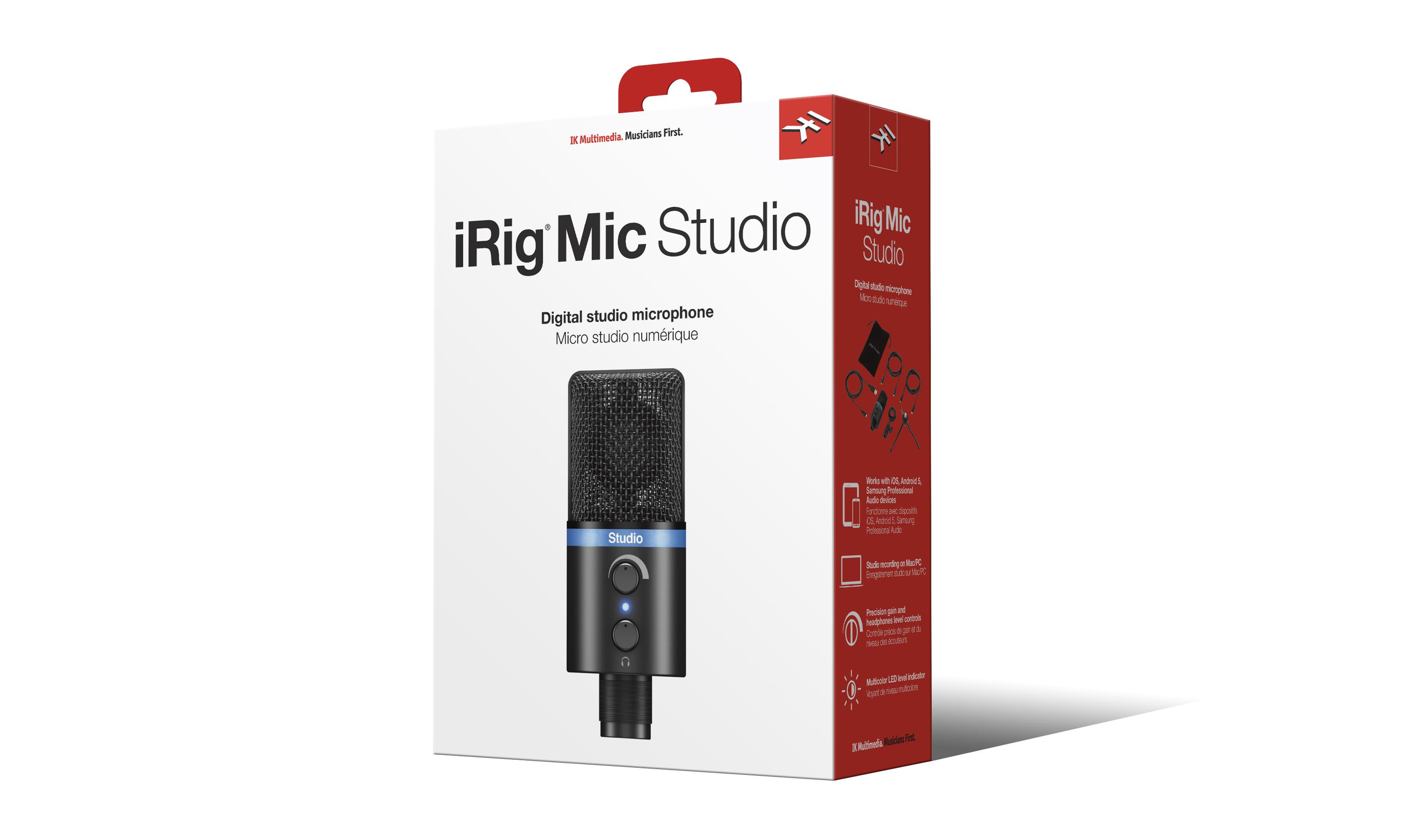 iRig Mic Studio Black