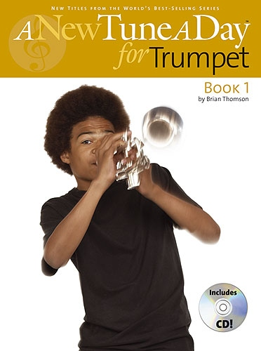 A NEW TUNE A DAY  TRUMPET/CORNET   BOOK 1 (CD EDITION) BOOK/CD