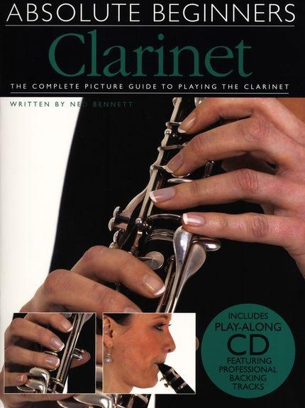 ABSOLUTE BEGINNERS CLARINET CLT BOOK/CD