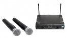 Set wireless dual  Alpha Audio Mic One Dual WL