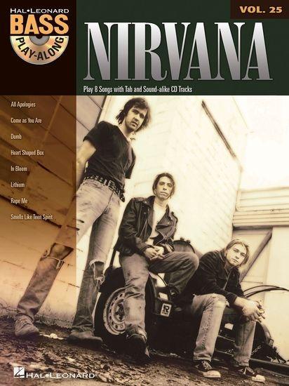 BASS PLAY-ALONG VOLUME 25 NIRVANA BASS GUITAR BGTR BOOK/CD