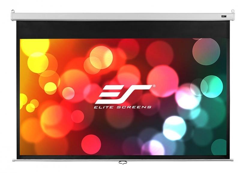 Ecran de proiectie de perete/tavan retractabil cu actionare manuala Elitescreens M100HSR-PRO