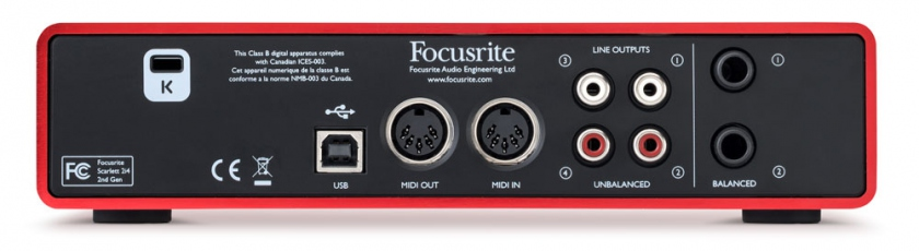 Focusrite Focusrite Scarlett 2i4 mk2