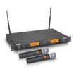 Set microfon wireless  LD Systems WS 1000 G2 HHD2