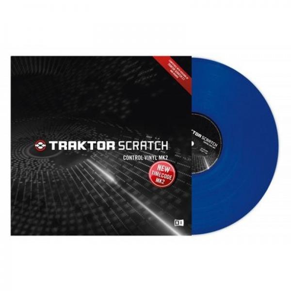 Native Instruments Traktor Scratch Vinyl MK2 Blue