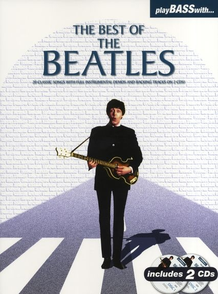 PLAY BASS WITH BEST OF BEATLES BOOK/2CDS