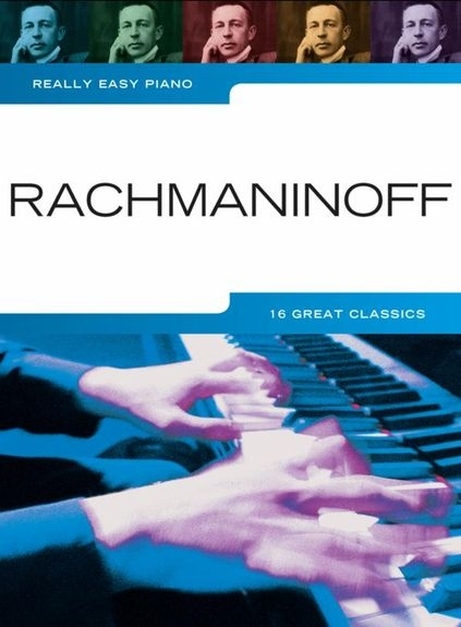 REALLY EASY PIANO RACHMANINOFF PF BOOK