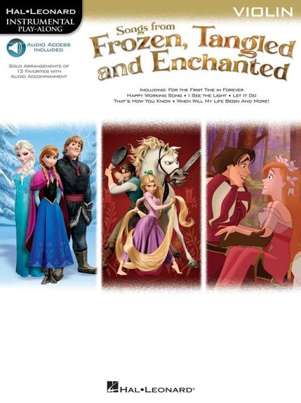 Songs From Frozen, Tangled And Enchanted: Violin