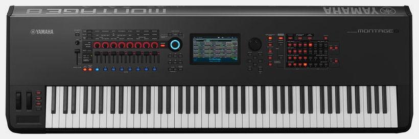 Sintetizator digital cu claviatura cu 88 de clape Yamaha Montage 8