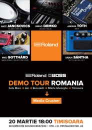 Roland / Boss Demo Tour 2015
